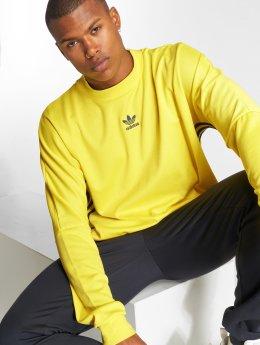 adidas originals Pullover Auth Str Jrsy yellow