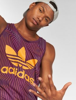 adidas originals Tank Tops Trefoil purple