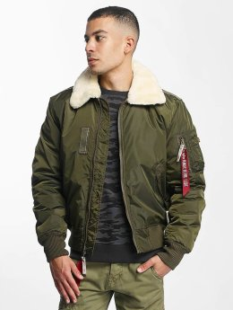 Alpha Industries Bomber jacket Injector III Flight green