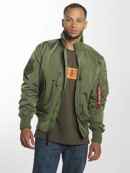 Alpha Industries Bomber jacket Prop Bomber green
