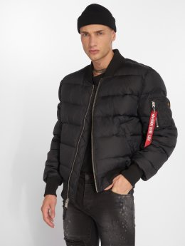 Alpha Industries Puffer Jacket MA-1 black