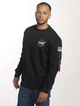Alpha Industries Pullover Space Shuttle black