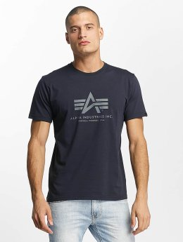 Alpha Industries T-Shirt Basic blue