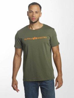Alpha Industries T-Shirt Alphandstrs olive