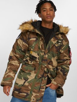 Alpha Industries Winter Jacket N3B Airbone camouflage