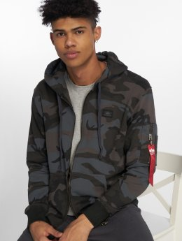 Alpha Industries Zip Hoodie X-Fit camouflage