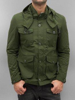 Amsterdenim Lightweight Jacket Sander green
