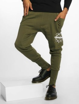 Bangastic Sweat Pant Birds olive