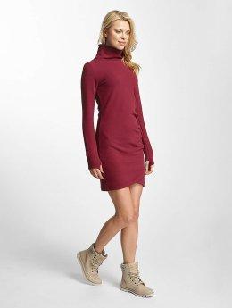 Bench Dress Slim Funnel red
