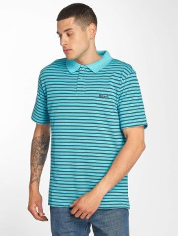 Bench Poloshirt Y/D Stripe turquoise