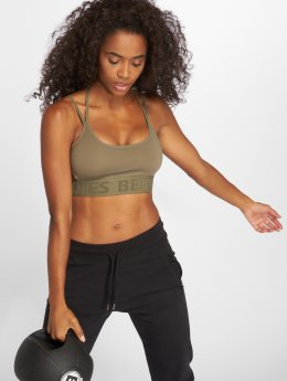 Better Bodies Sports Bra Astoria  khaki