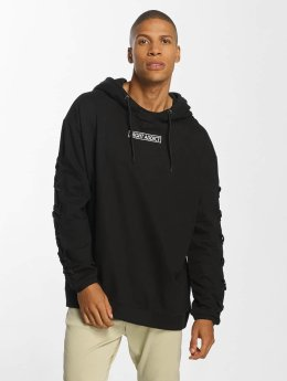 Brave Soul Hoodie With Heavy Criss black