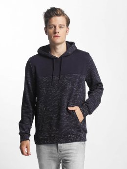Brave Soul Hoodie Fleck Detail To Body blue