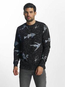 Brave Soul Pullover Sweatshirt blue