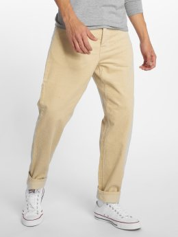 Carhartt WIP Corduroy Pants Newel Straight Fit beige