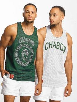 CHABOS IIVII Tank Tops Reversible Mesh Jersey  green