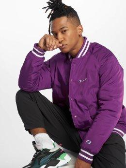 Champion Bomber jacket BasicBomb purple