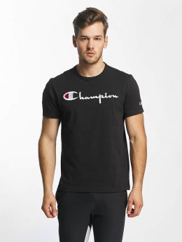 Champion T-Shirt Cotton Graphic black