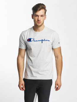 Champion T-Shirt Cotton Graphic gray