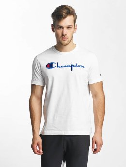 Champion T-Shirt Cotton Graphic white
