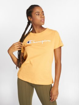 Champion T-Shirt Basic yellow