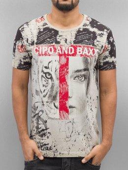 Cipo & Baxx T-Shirt Wildbeauty brown