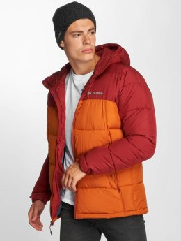 Columbia Winter Jacket Pike Lake Hooded red