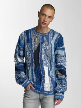 Coogi Pullover Patchwork blue