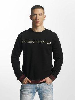 Criminal Damage Aldo Sweatshirt Black/Golden
