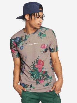 Criminal Damage T-Shirt Carpel beige