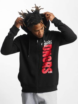 Dangerous DNGRS Zip Hoodie Unexpected black