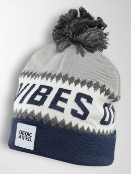 DEDICATED Winter Hat Jacquard GVO blue
