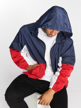 DEF Lod Windbreaker Blue/Red/White
