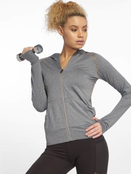 DEF Sports Zip Hoodie Allutic  gray
