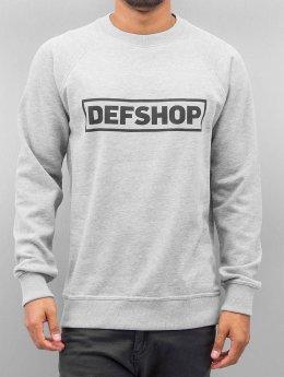 DefShop Pullover Logo gray