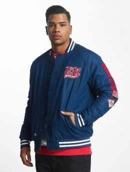 Ecko Unltd. Big Logo College Jacket Blue