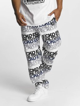 Ecko Unltd. Sweat Pant TroudÀrgent  white