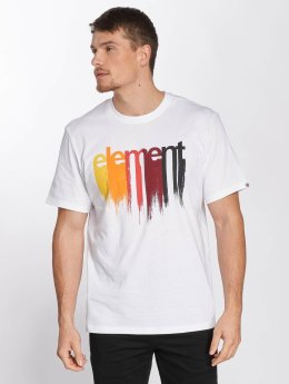 Element T-Shirt Drip white
