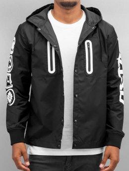 EVISU Lightweight Jacket Multi Logo black