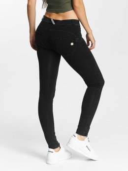 Freddy Skinny Jeans Regular Waist  black