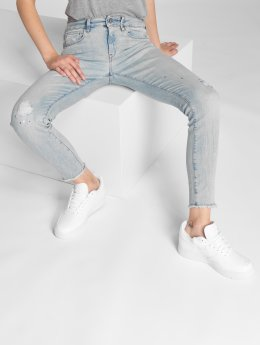 G-Star Skinny Jeans 3301 Deconst blue
