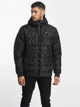 G-Star Winter Jacket Strett Utility Myrow Pes Dye Quilted Hooded black