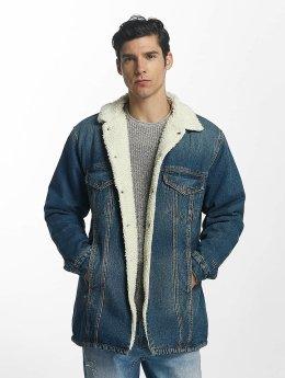 Grimey Wear Lightweight Jacket Denim Jacket blue