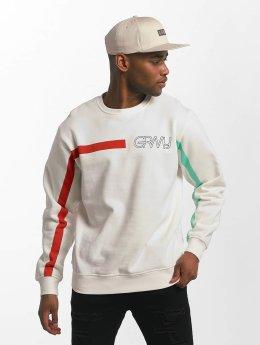 Grimey Wear Pullover Mangusta V8 white