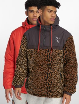 Grimey Wear Winter Jacket GTO Heritage Anorak red