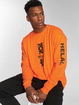 Helal Money Pullover Settat orange