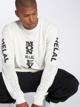 Helal Money Pullover Settat white