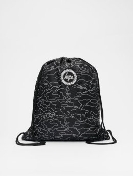 HYPE Beutel Outline Camo Drawstring black
