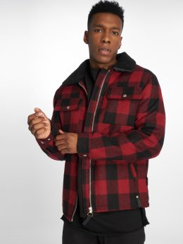 Indicode Winter Jacket Kais red