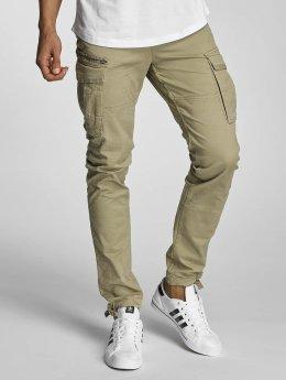 Jack & Jones Cargo pants jjiPaul jjChop beige